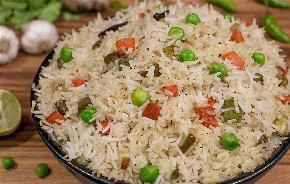 Veg-Fried Rice