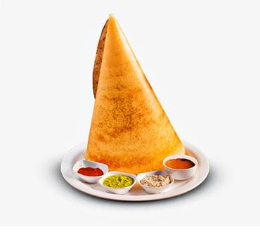 Chips and Cheese Dosa