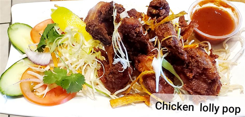 Supreme Tandoori Chicken Lollypop