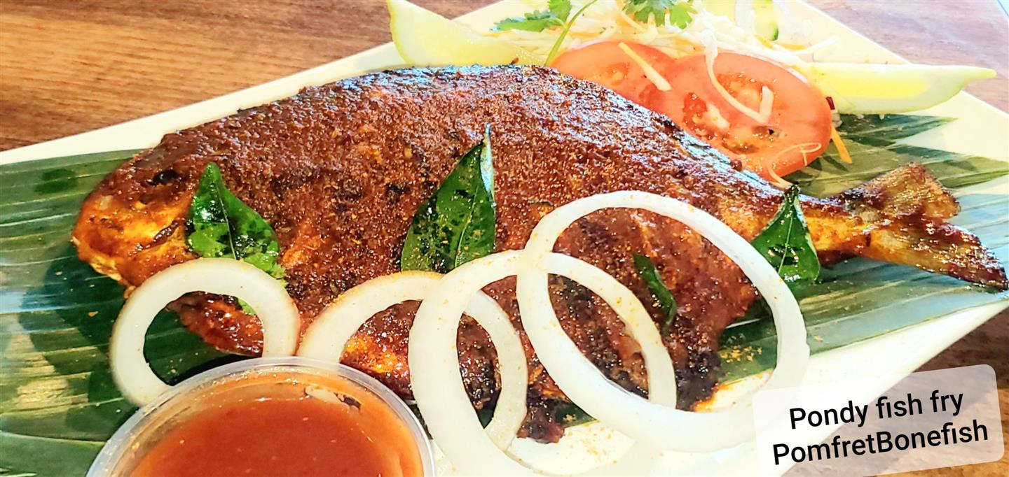 Pondicherry Meen Fry (Pomfret Bone Fish)