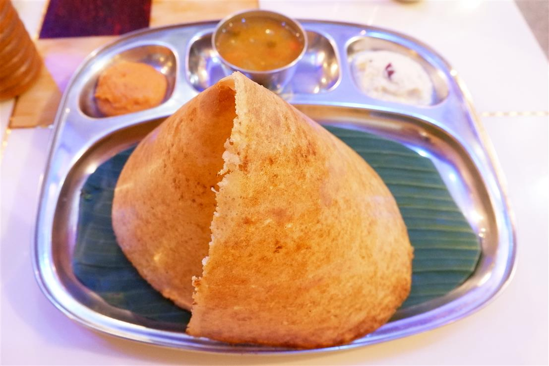 Chicken Pepper fry Dosa