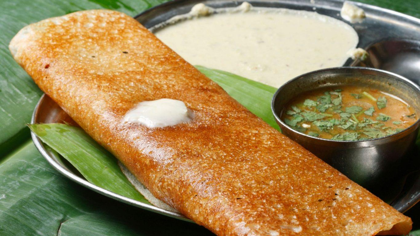Chilli Chicken Dosa