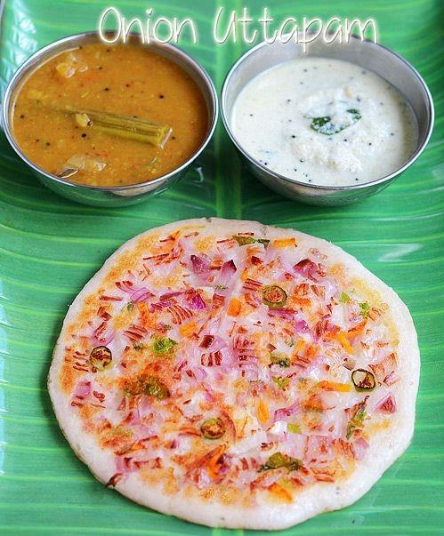 Onion Uttappam (2pc)