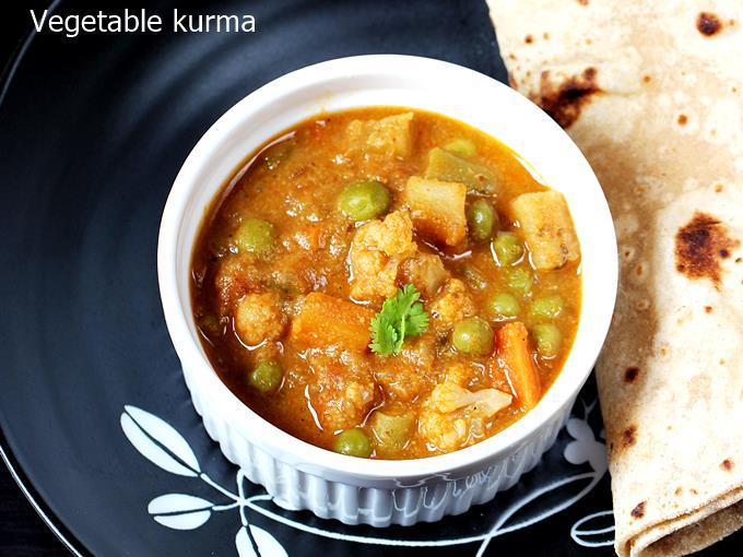Chettinad Vegetable Kurma